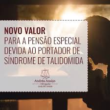 Lei aumenta o valor da pensão para as pessoas com síndrome da Talidomida.